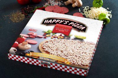 kutulu kendi pizzan
